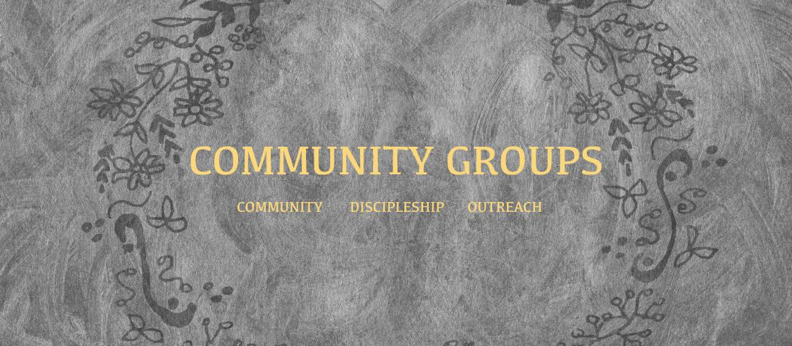 Midweek Community Groups
